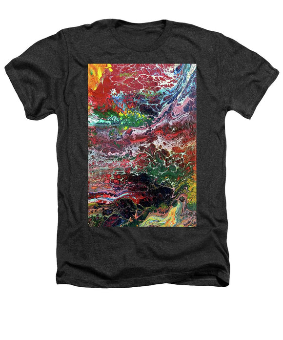 Colorful Chaos - Heathers T-Shirt