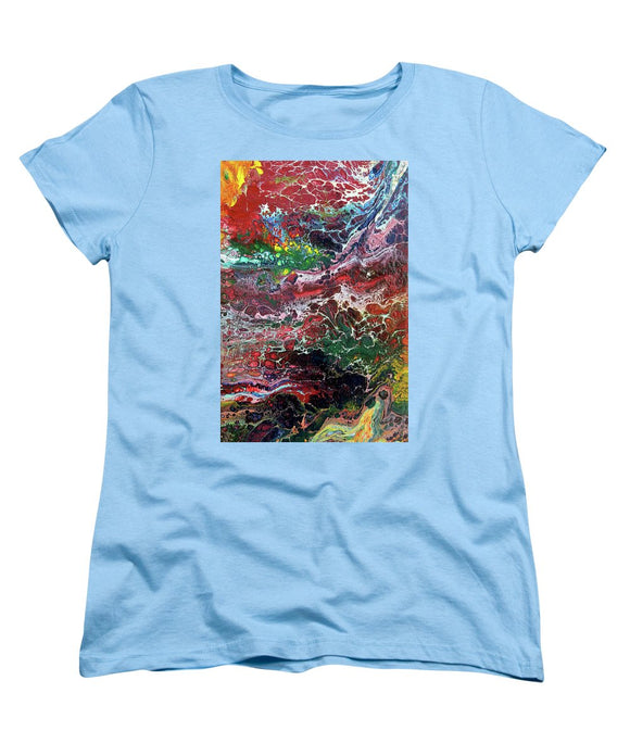 Colorful Chaos - Women's T-Shirt (Standard Fit)
