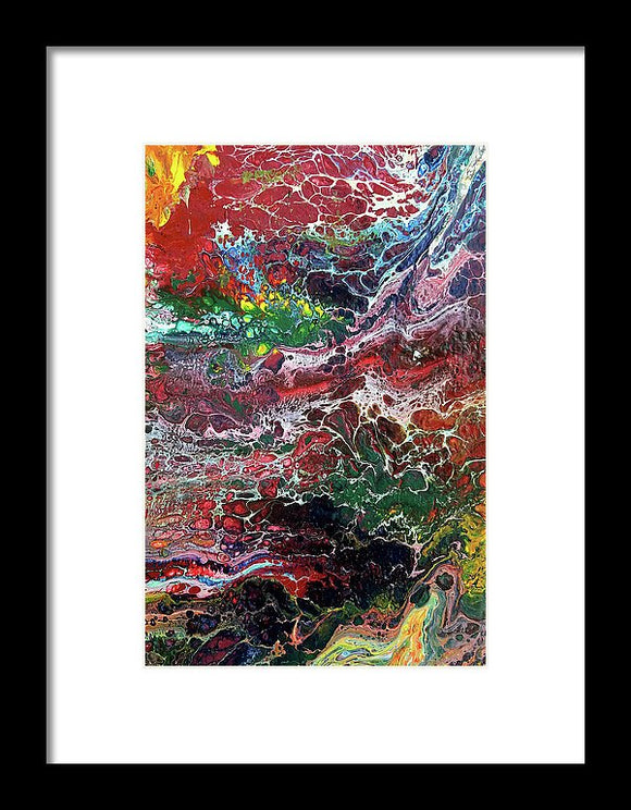 Colorful Chaos - Framed Print