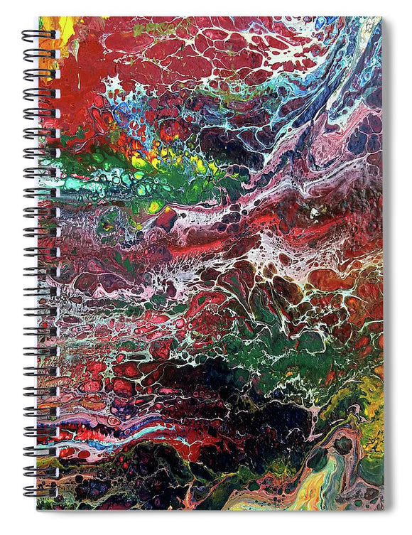 Colorful Chaos - Spiral Notebook