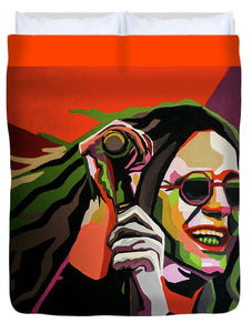 Crazy Train - Duvet Cover