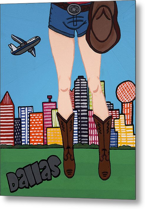 Dallas Pop Tart - Metal Print