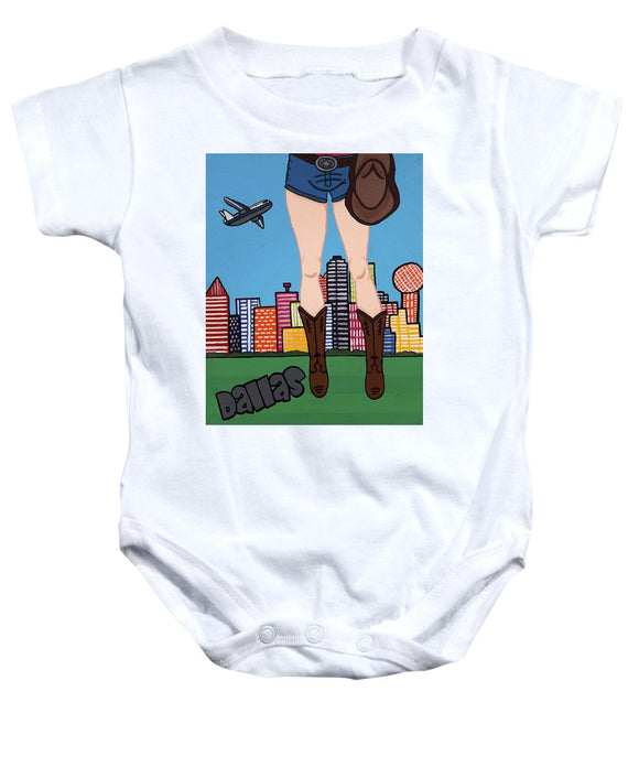 Dallas Pop Tart - Baby Onesie