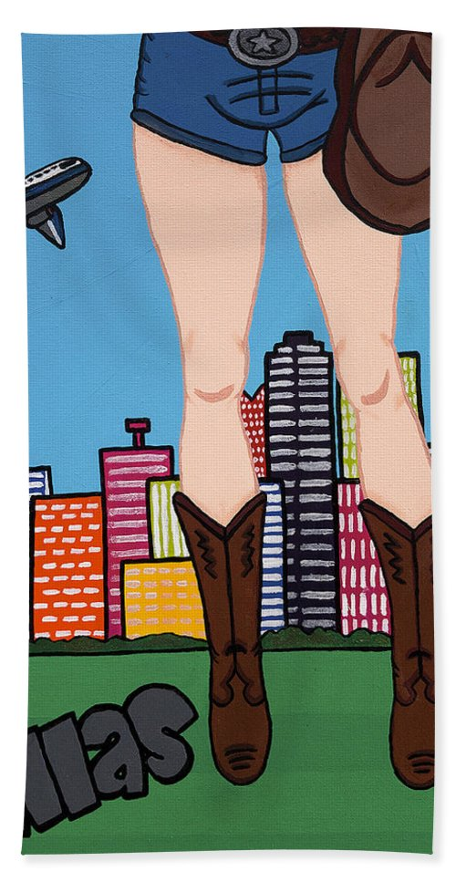 Dallas Pop Tart - Bath Towel