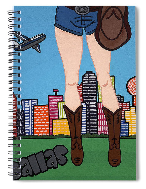 Dallas Pop Tart - Spiral Notebook