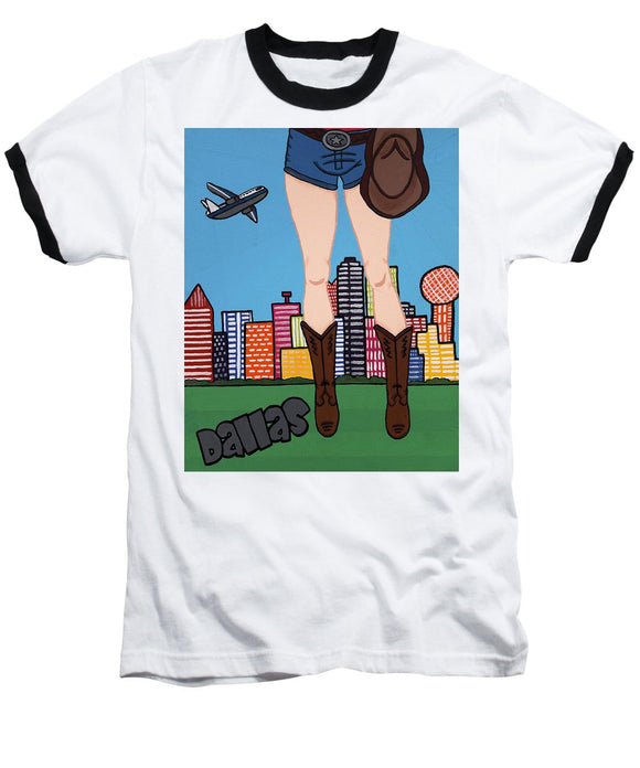 Dallas Pop Tart - Baseball T-Shirt