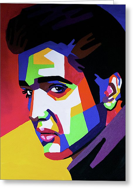 Elvis Lives - Greeting Card