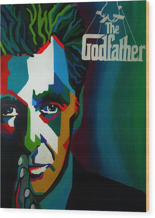 Godfather - Wood Print
