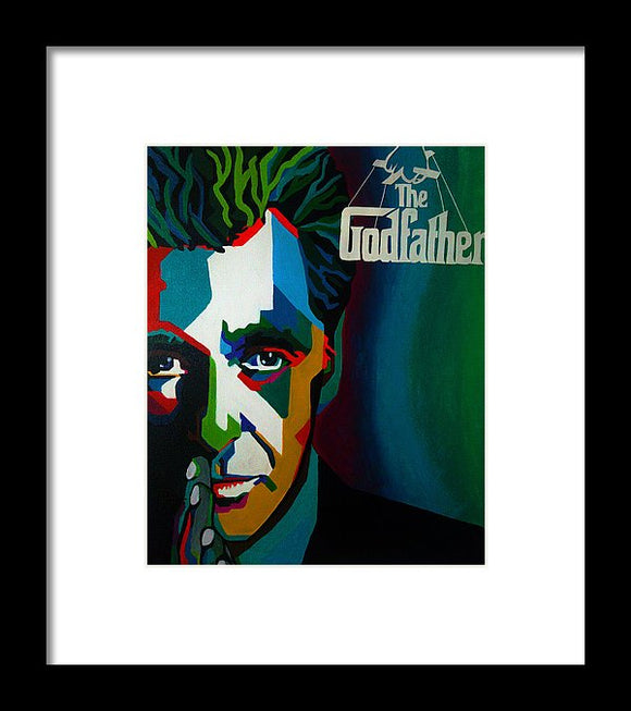 Godfather - Framed Print