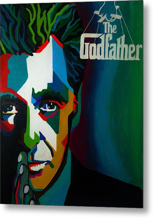 Godfather - Metal Print