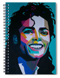 King Of Pop Art - Spiral Notebook