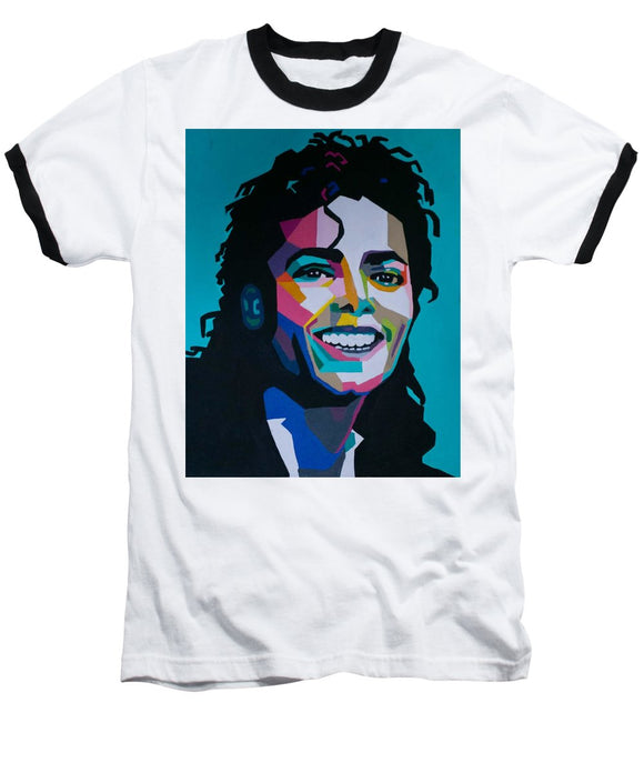 King Of Pop Art - Baseball T-Shirt