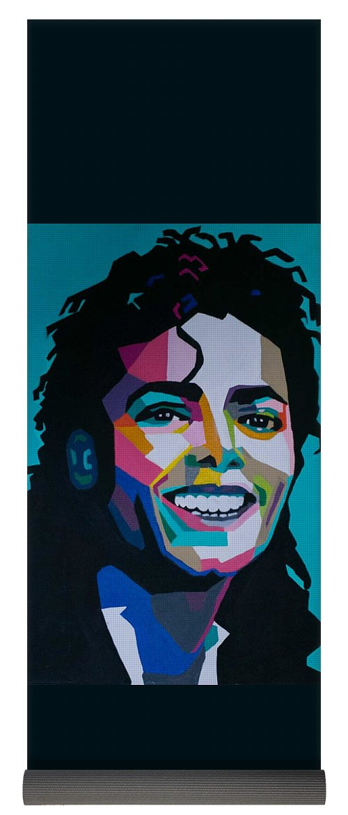 King Of Pop Art - Yoga Mat