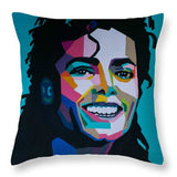 King Of Pop Art - Throw Pillow