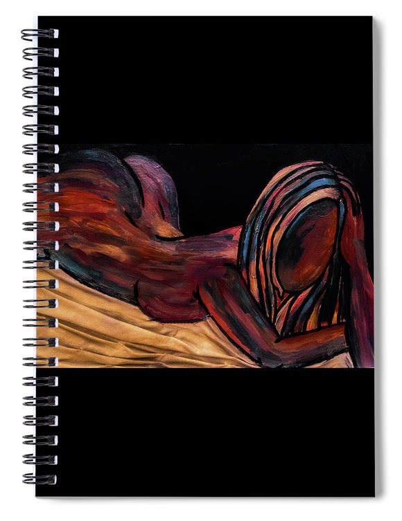 Lounge Lady - Spiral Notebook