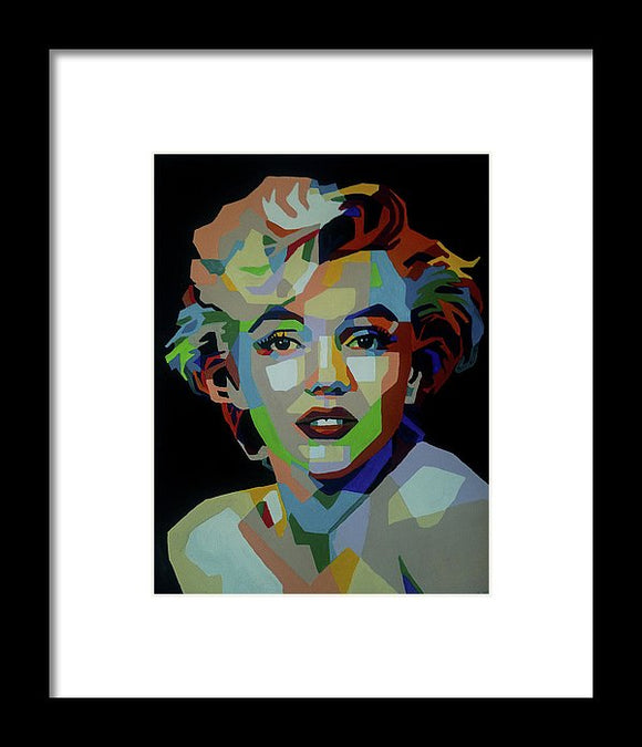 Marilyn - Framed Print