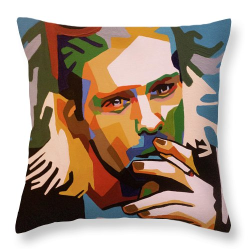 Nirvana - Throw Pillow