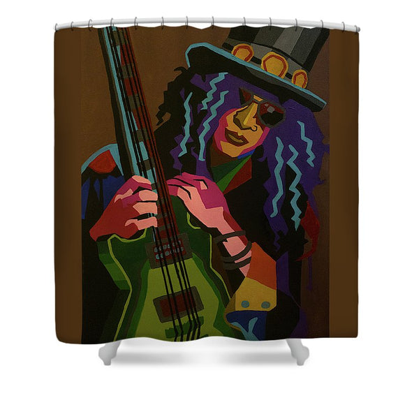 Slash - Shower Curtain