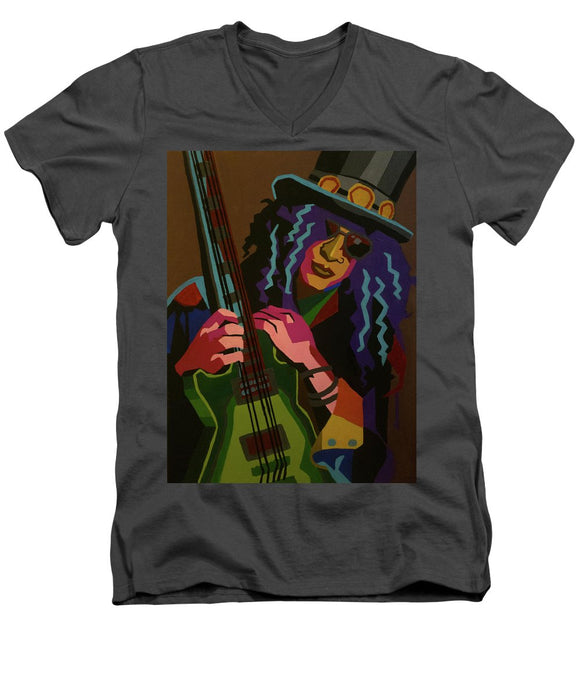 Slash - Men's V-Neck T-Shirt