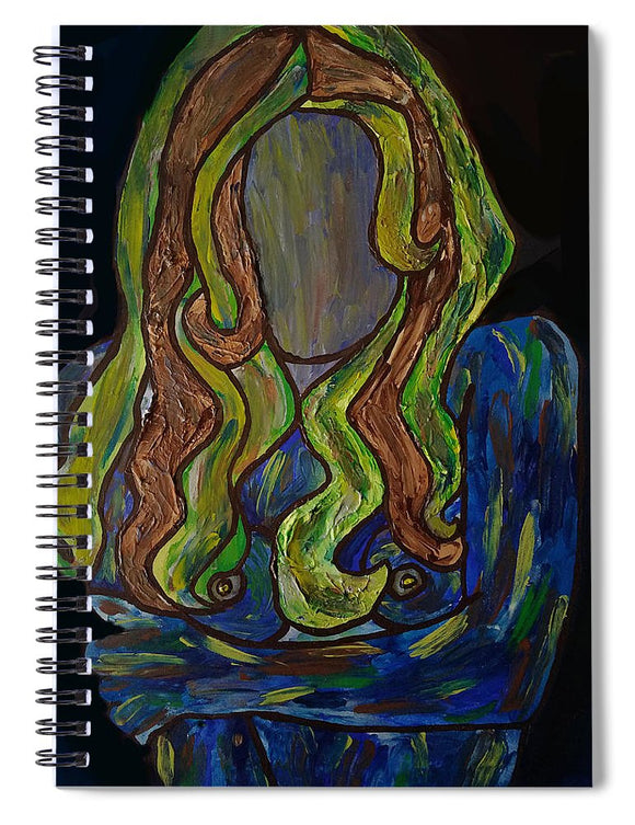 Why So Blue - Spiral Notebook
