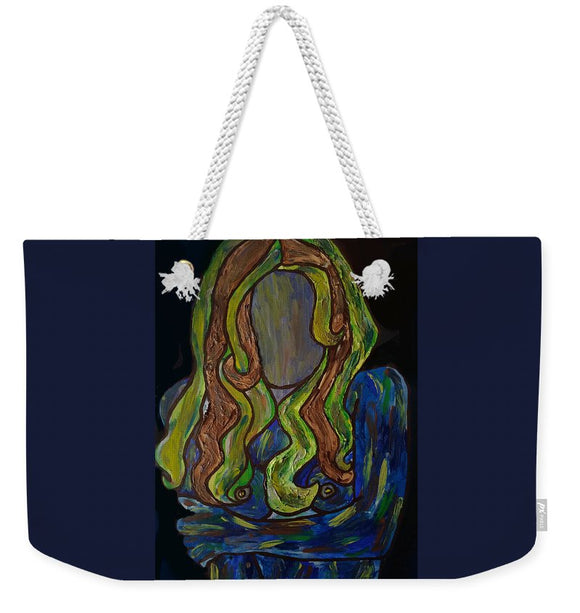 Why So Blue - Weekender Tote Bag