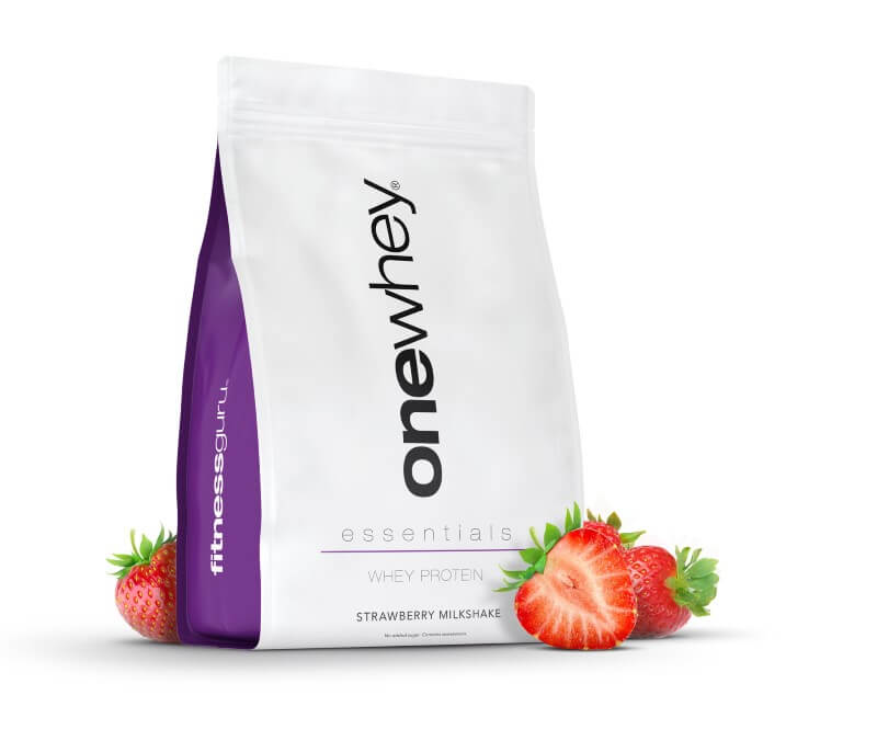 One Whey Essentials Strawberry Milkshake