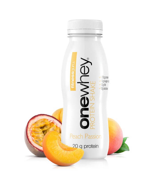One Whey Protein Shake Peach Passion