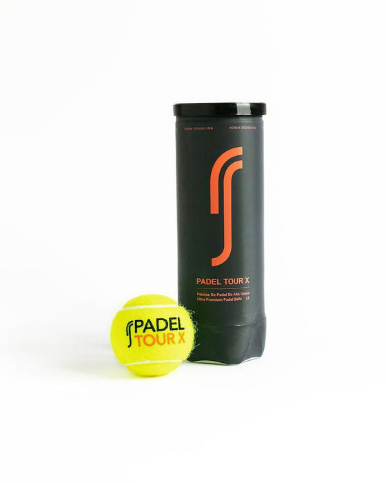 RS Padel Tour X Padel ball 1 can (3 balls)