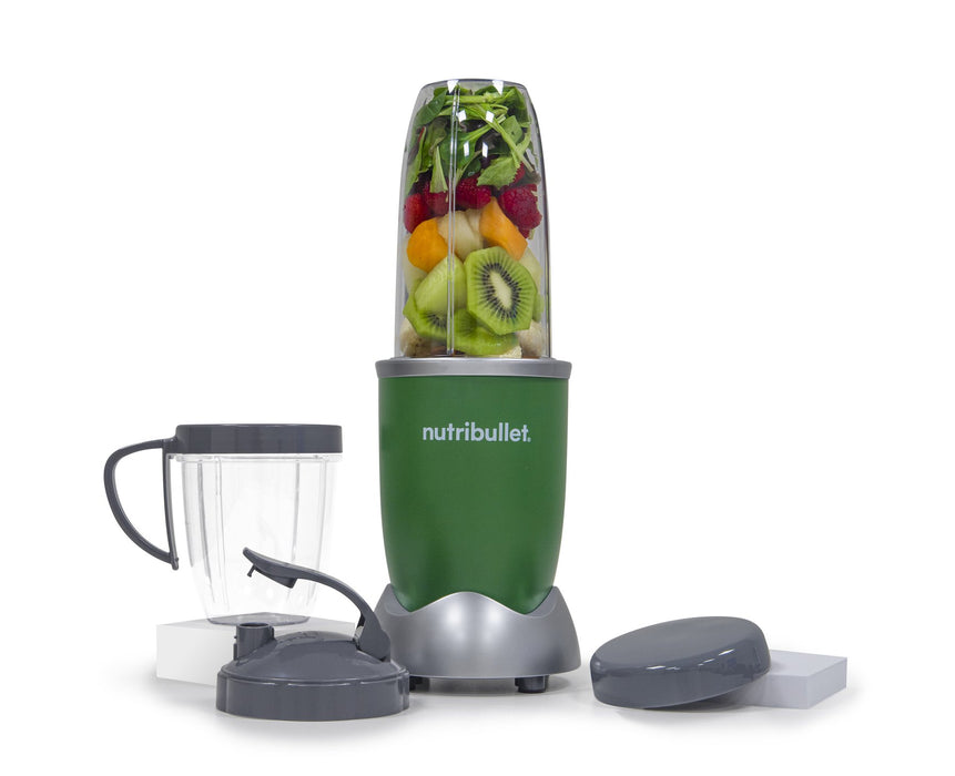 NutriBullet PRO 900W (Jungle Green, 9-pcs, Mixer/Blender)