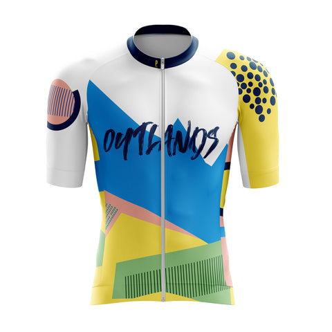 Outlands Race Fit Cycling Jersey