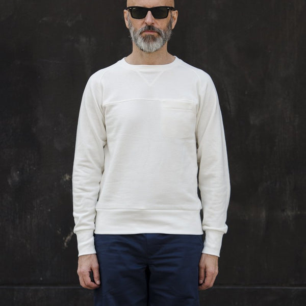 Hjul White Sweatshirt