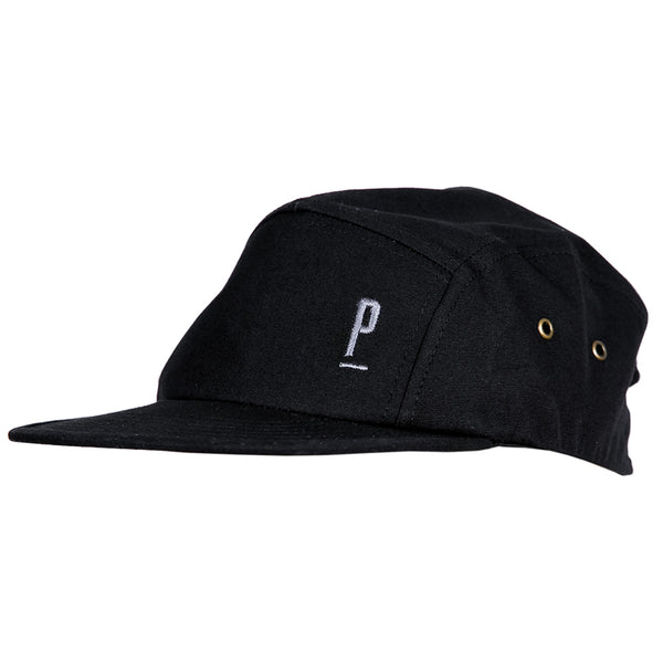 PARIA Black 5 PANEL CAP-PARIA.CC
