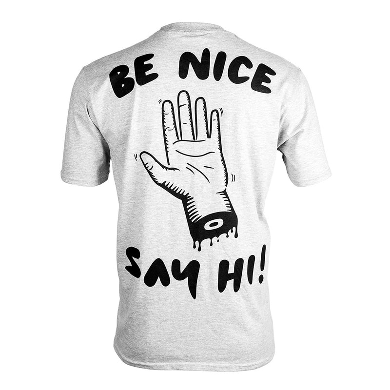 Be Nice Say Hi Cyclist Tee-PARIA.CC