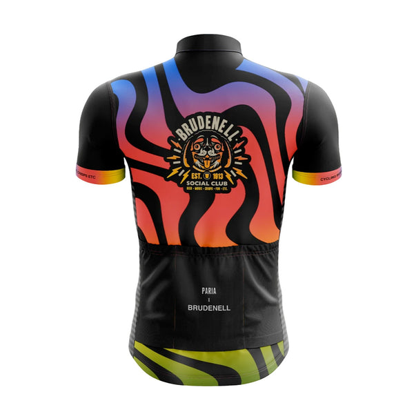 Brudenell Social Club Womens LS6 Cycling Jersey-PARIA.CC