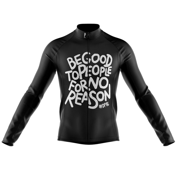 DFTE Long Sleeve Winter Cycling Jersey-PARIA.CC