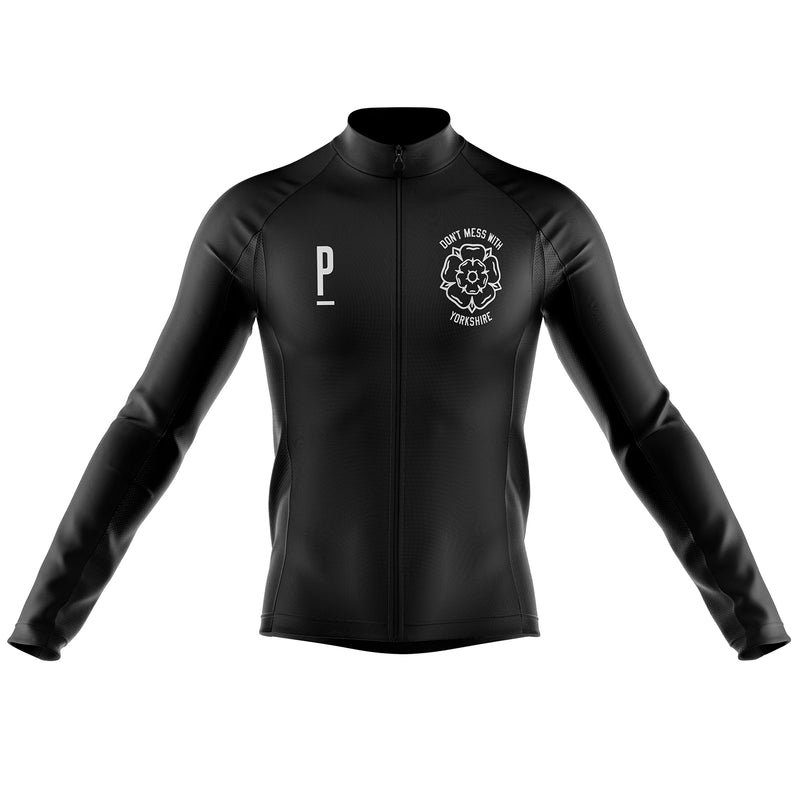 Don't Mess With Yorkshire Long Sleeved Cycling Jersey