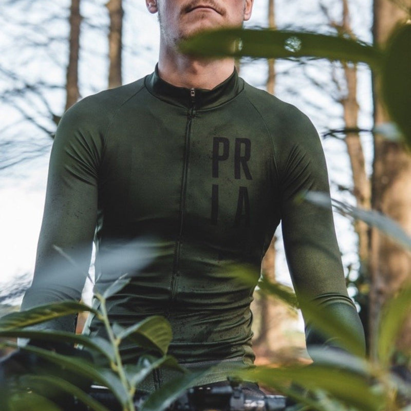 Modernist Long Sleeve Aero Winter Cycling Jersey-PARIA.CC