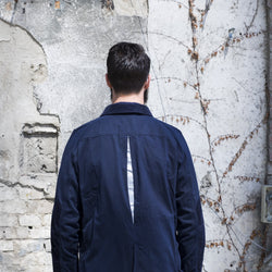 Hjul Navy Waxed Cotton Jacket