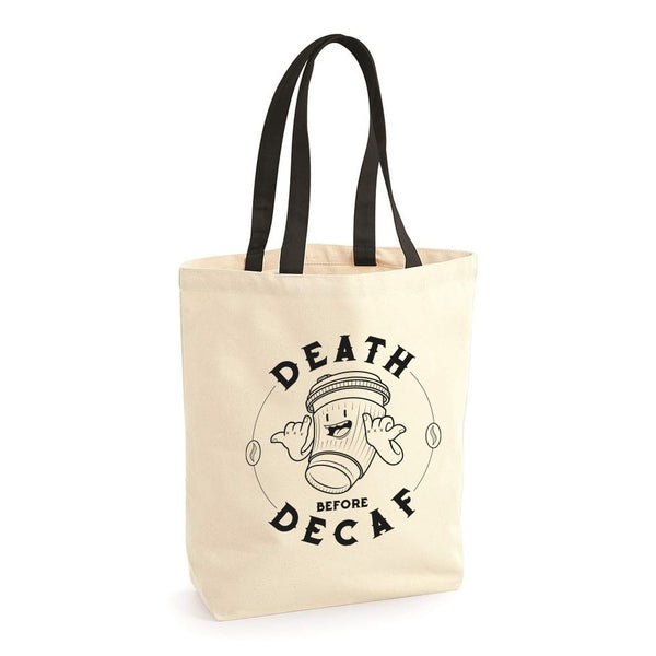 Death Before Decaf Bag
