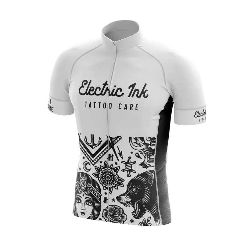 Electric Ink Tattoo Care, Electric Ink Cycling Jersey