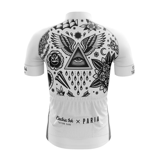 Electric Ink Tattoo Care X Paria Cycling Jersey-PARIA.CC