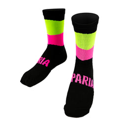 Hi Vis-Coolmax-Socks, hi viz socks, hi vis cycling socks