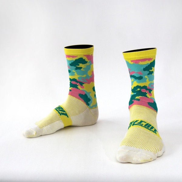 Camo Print Cycling Socks