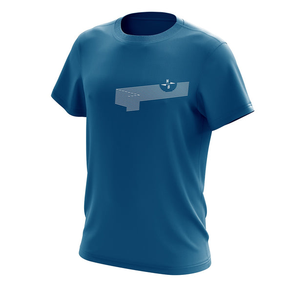 Northbrew Co Wave Aqua Tee