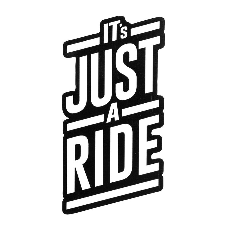 Cycling Inspired,It's Just A Ride Sticker, Paria Sticker,