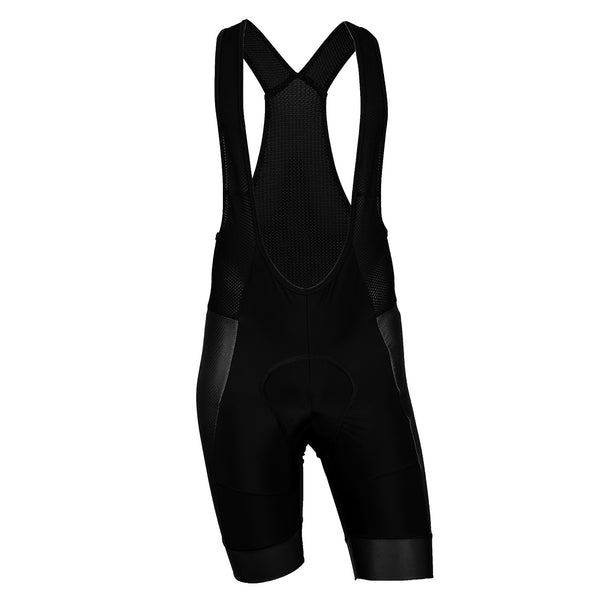 PRIA Pro Black Cycling Bib Shorts