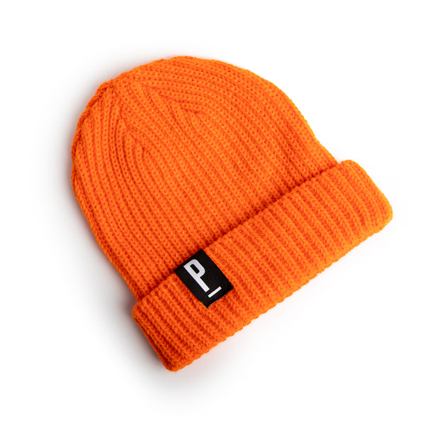 Orange Fisherman Beanie-PARIA.CC
