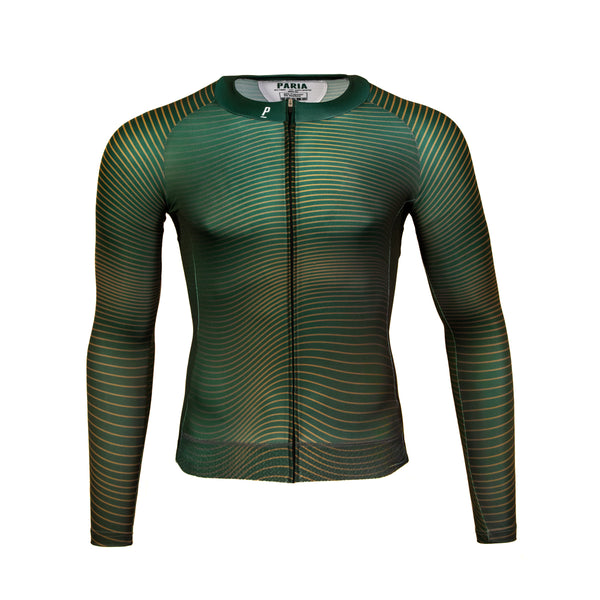 Bicker Long Sleeve Aero Winter Cycling Jersey-PARIA.CC