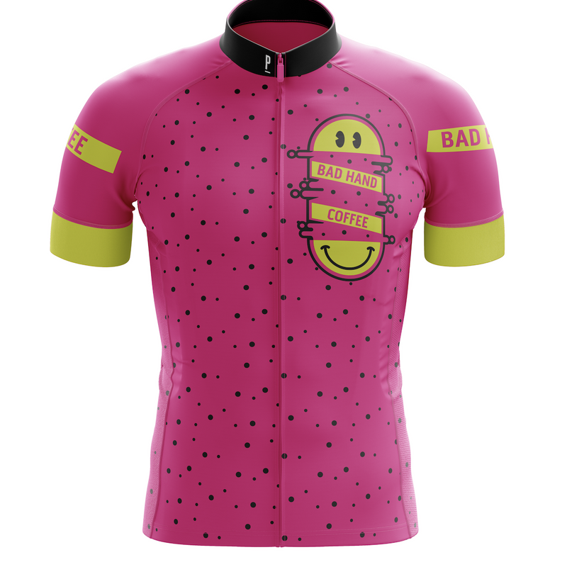 Bad Hand Coffee Co Men's Cycling Jersey-PARIA.CC