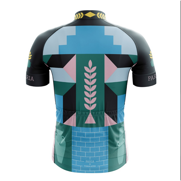 Abstract Men's Club Cut Jersey